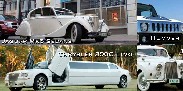 chrysler limos perth, belle